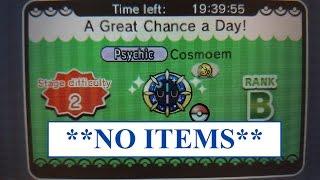 Cosmoem  - (Pokémon) - Cosmoem catch (Pokemon Shuffle)