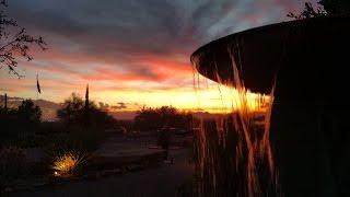 Sunset, Moonrise, Frank Lloyd Wright