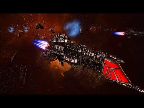 Imperial Navy vs Dark Eldar! - 1v1 Multiplayer Gameplay, Battlefleet Gothic Armada 2