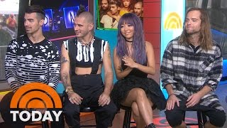 DNCE: We Didn't Know 'Cake By The Ocean' Would Be A Huge Hit | TODAY