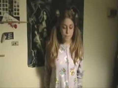 Mała dziewczynka i jej talent