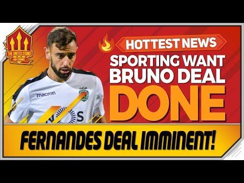 Bruno Fernandes Deal Done This Week? Man Utd Transfer News