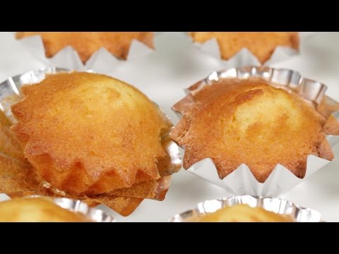 Madeleines (Small French Cake Recipe) | Cooking with Dog