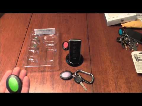 UHF key finder - JTD Wireless RF Item Locator/Key Finder Demo/Review