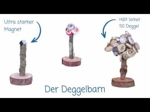 Der Deggelbam - das ultimative Männergeschenk / Deckelbaum