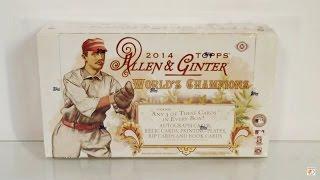 2014 Topps Allen & Ginter Hobby Box Break! WOW!