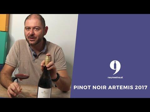 """9Weine Gründer Michael präsentiert den """"Pinot Noir Artemis 2017"""""""