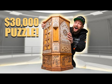 This Man Solves A $30,000 Puzzle