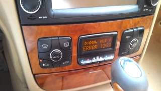 Mercedes S W220 A/C Auto Button and Fault Codes Question - Most