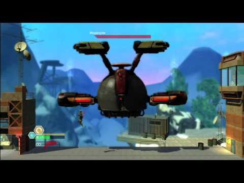New Bionic Commando Rearmed 2 Gameplay Vid