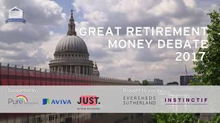 Great Retirement Money Debate: Mind over Money – 10 July 2017