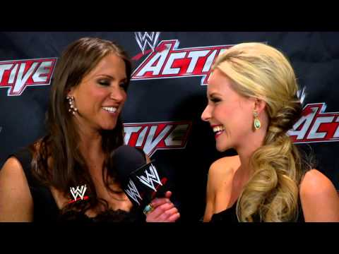 Stephanie McMahon talks about the honor of inducting Trish Stratus into the WWE Hall of Fame