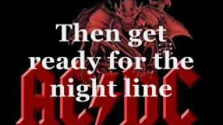 AC/DC - Are you ready ( with lyrics! )