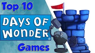 Top 10 Days of Wonder Games with Sam Healey