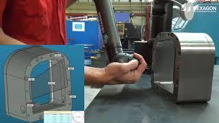 Μετρητικός Βραχίονας Compact Absolute Arm HEXAGON MI