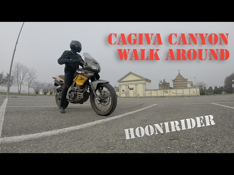 Cagiva Canyon 500 Walk Around and Sound - GoPro Hero 3+