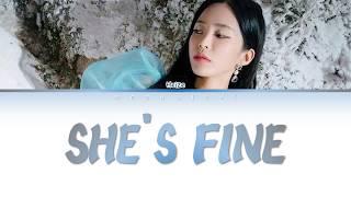 헤이즈 (Heize) - SHE'S FINE (Color Coded Lyrics HanIRomIEng)