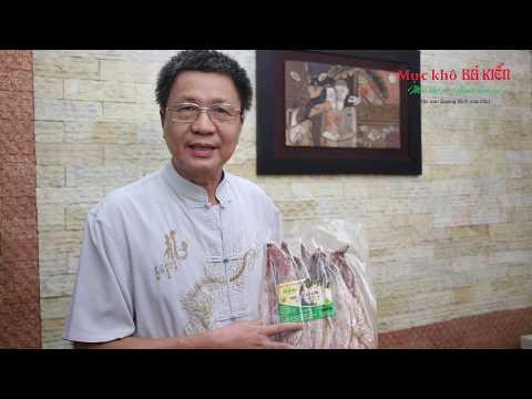 Bác Đình Bách - HN đánh giá cao sản phẩm mực khô Bá Kiến