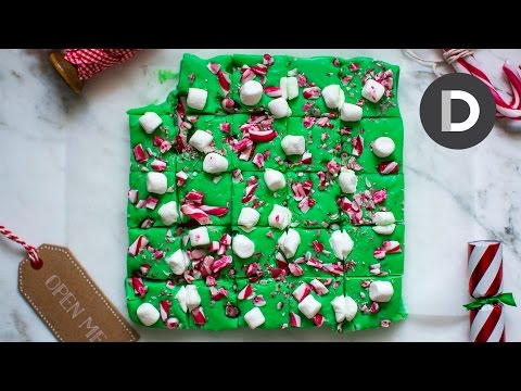 How to make… Candy Cane Christmas Fudge!