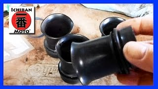 how to soften and restore old hard rubber motorcycle parts