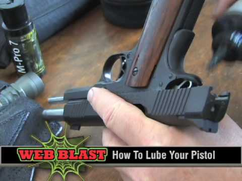 How To Lube An Auto Pistol