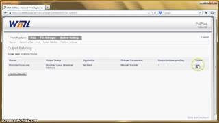 Demo of the WML Prescribe to PDF emulation