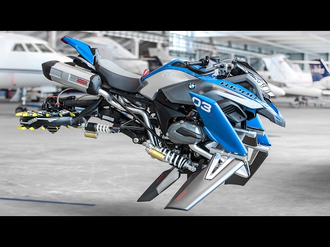 BMW Flying Motorcycle Concept | Hover Bike l Lego Bike