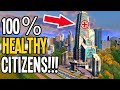How to Protect Your Citizens with 100% Health in Cities Skylines!