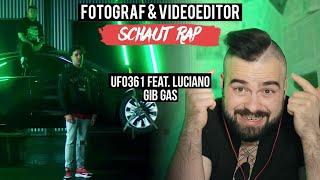 "UFO361 FEAT. LUCIANO – ""GIB GAS"" 🌊🌊🌊  FOTOGRAF & VIDEOEDITOR SCHAUT RAP  LIVE REACTION"