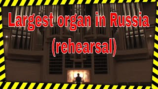 Organist Dr. Carol Williams On The Largest Organ In Russia