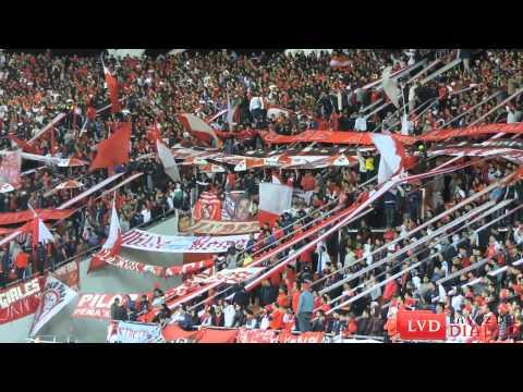 """""""(HD) """"Yo soy así"""" // Hinchada de Independiente vs Lanús"""" Barra: La Barra del Rojo • Club: Independiente"""