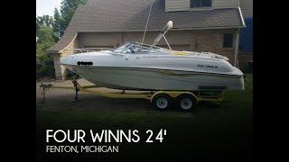 Used 1998 Four Winns 245 Sundowner for sale in Fenton, Michigan