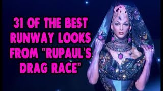 "31 Of The Best Runway Looks From ""RuPaul's Drag Race"""