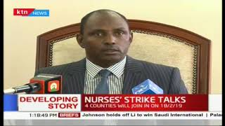 Labour CS Ukur Yattuni  launches a conciliation committee to spearhead talks over nurses grievances