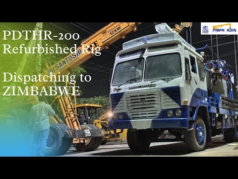 DTH 200 Bore Well Drilling Rig for sale