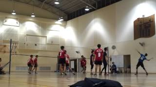 West Spring Secondary School volleyball
