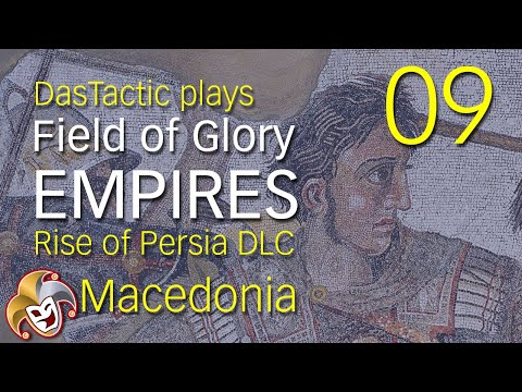 DasTactic plays Field of Glory EMPIRES ~ 09 Thrace Falls ~ Rise of Persia DLC