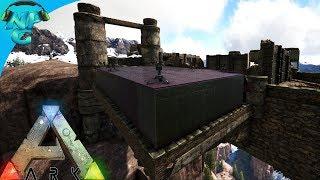 World War ARK - 2 Men 1 Base Raid the Bridge Base No Skill Style! E7 ARK Survival Evolved