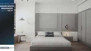 Mẫu thiết kế nội thất căn hộ Saigon South Residences 100m2 -...
