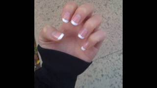Easy at Home French Manicure Tutorial