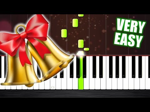 Jingle Bell Rock - Piano Tutorial but it's TOO EASY (almost everybody can play it)