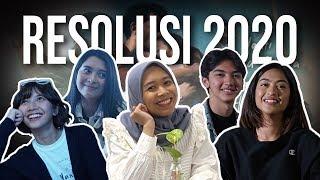 SATU KATA - Tahun Baru 2020, Ini Kesan & Resolusi Marchella FP, Sheila Dara, Taskya Namya, Ari Irham