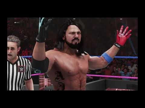 WWE 2K19 Markiplier vs AJ Styles WWE Title Match
