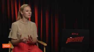 Exclusive Interview: Deborah Ann Woll Talks Marvels Daredevil [HD]