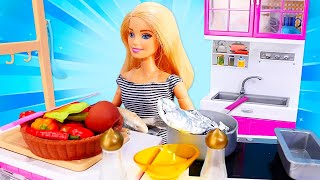 Spaß mit Barbie - 3 Folgen am Stück - Puppen Video auf Deutsch