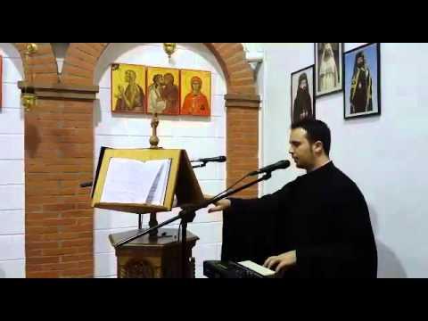 Ieropsalt George Bucurică – Doamne strigat-am, glasul I