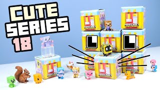 Minecraft Mini-Figure Cute Series 18 Full Collection with Bees? Mattel