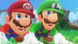 Super Mario Odyssey - Complete Walkthrough (Luigi Gameplay)