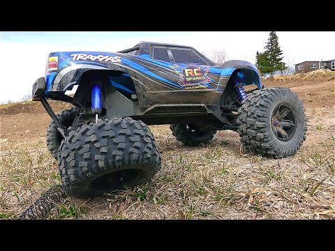 RC ADVENTURES - Traxxas XMaxx - AiR TiME - A MONSTER TRUCK!