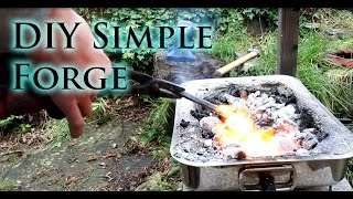 How To Make A Simple DIY Blacksmiths Forge